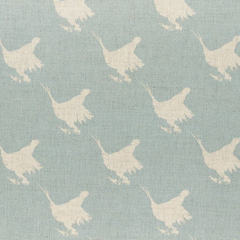 Milton and Manor Pheasant Blue Large Fabric