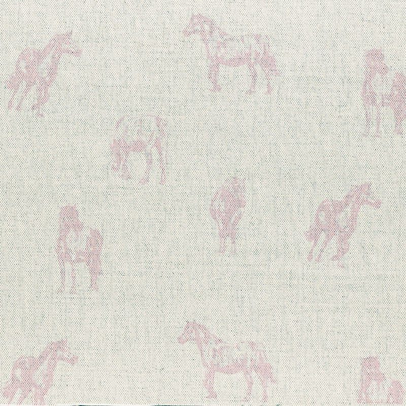 Milton and Manor Pink Pony fabric