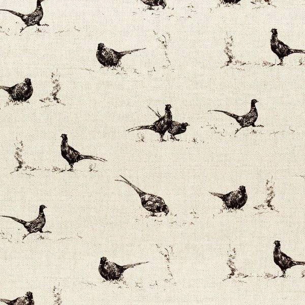 Milton and Manor Pheasant Fun fabric