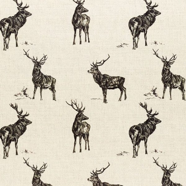 Milton and Manor Stag Parade Fabric