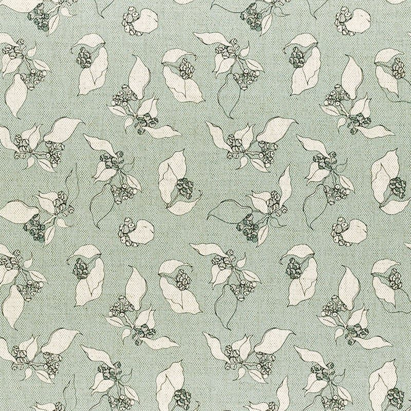 Milton and Manor Hedera Duck Egg Fabric