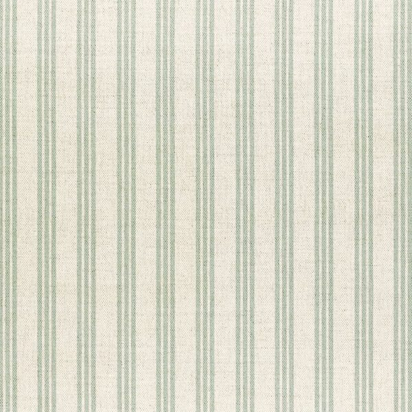 Milton and Manor Stripe Thin Duck Egg Fabric