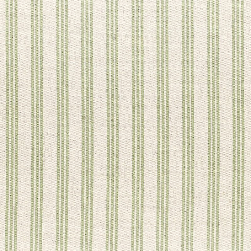 Milton and Manor Stripe Thin Green Fabric