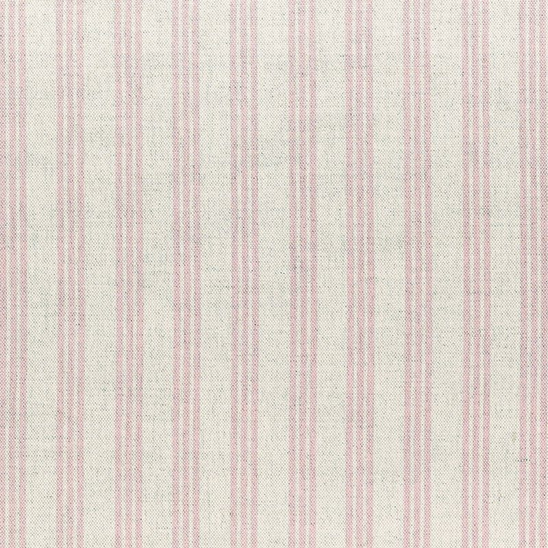 Milton and Manor Stripe Thin Pink Fabric