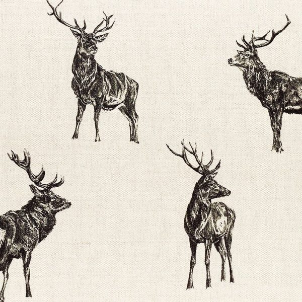 Milton and Manor Stag Parade Large Fabric