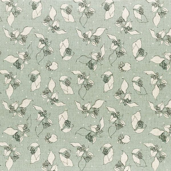 Milton and Manor Hedera with Spots on Duck Egg Fabric