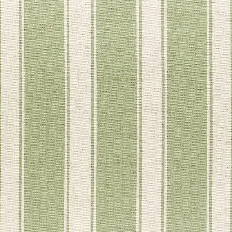 Milton and Manor Stripe Chunky Green Fabric