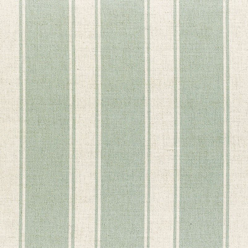 Milton and Manor Stripe Chunky Duck Egg Fabric