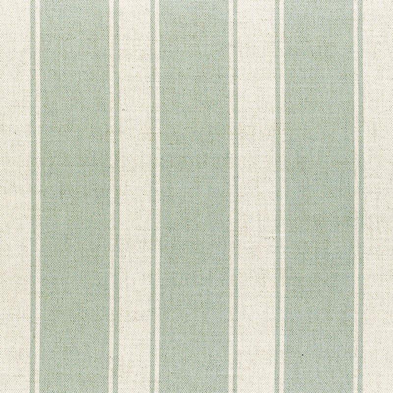 Milton and Manor Stripe Chunky Duck Egg Fabric