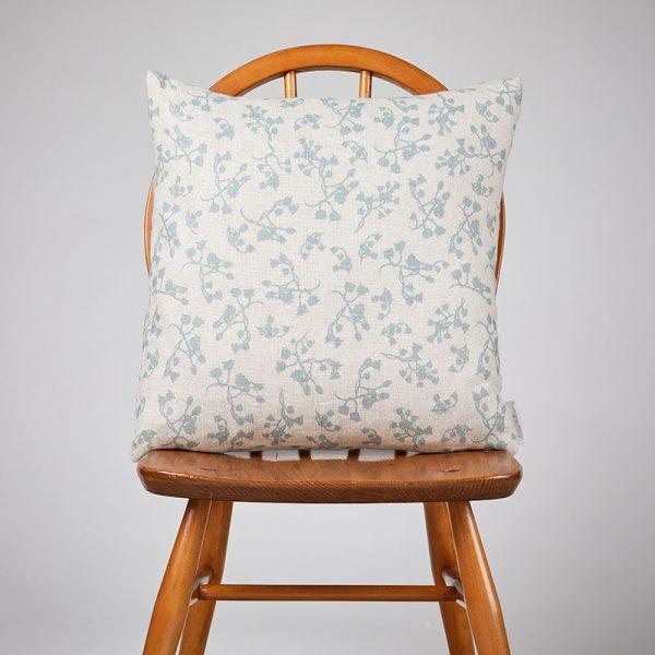 Milton and Manor Berries Blue Medium Cushion