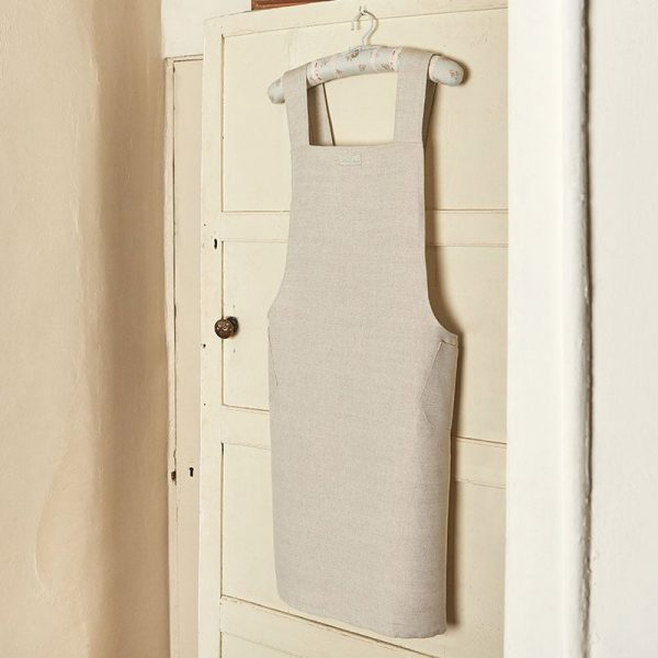 Milton and Manor Linen pinafore