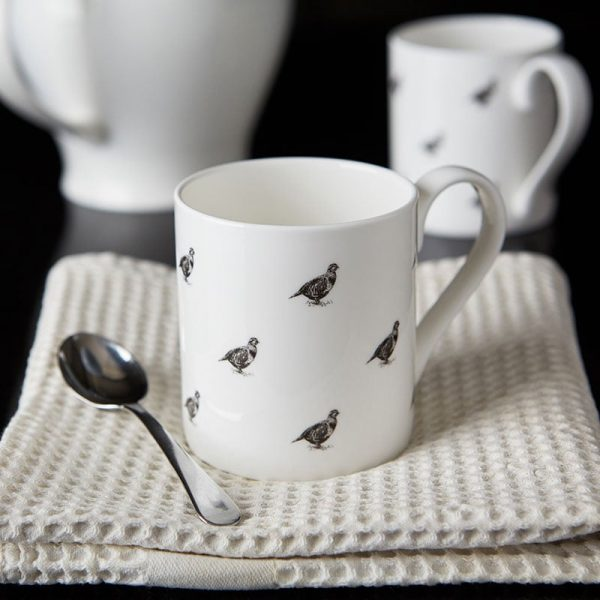 Milton and Manor Partridge Mug