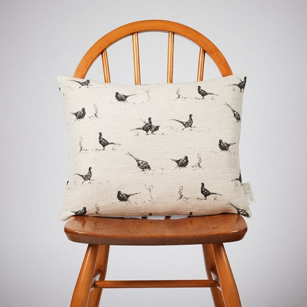 Milton and Manor Pheasant Fun Rectangle Cushion