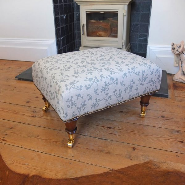 Milton and Manor small footstool